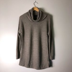 Adrienne Vittadini Cream Merino Wool Sweater